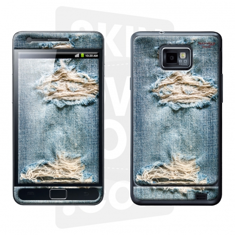 Skincover® Galaxy S2 - Blue Jeans