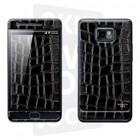 Skincover® Galaxy S2 - Crococuir