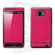 Skincover® Galaxy S2 - Cuir Pink