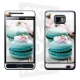 Skincover® Galaxy S2 - Macaron Flowers