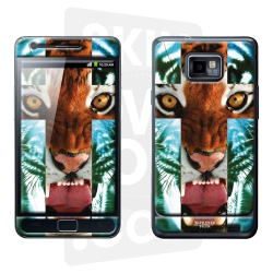 Skincover® Galaxy S2 - Tiger Cross