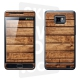 Skincover® Galaxy S2 - Wood