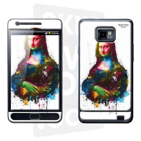 Skincover® Galaxy S2 - Da Vinci Pop By P.Murciano