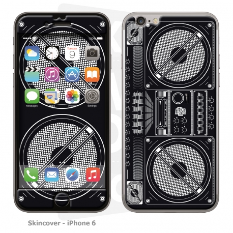 Skincover® iPhone 6/6S - Ghetto Blaster