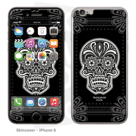 Skincover® iPhone 6/6S - Skull & Flower