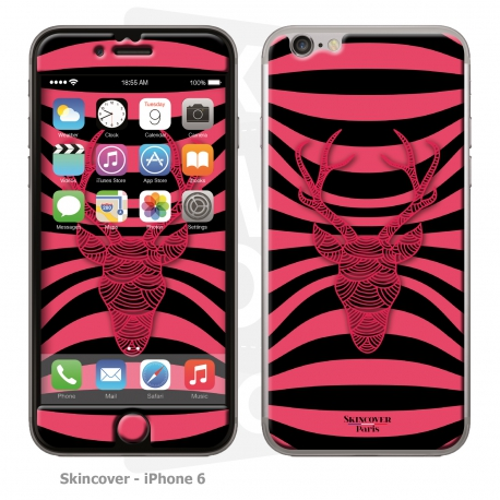 Skincover® iPhone 6/6S - Cerf Psychedelic