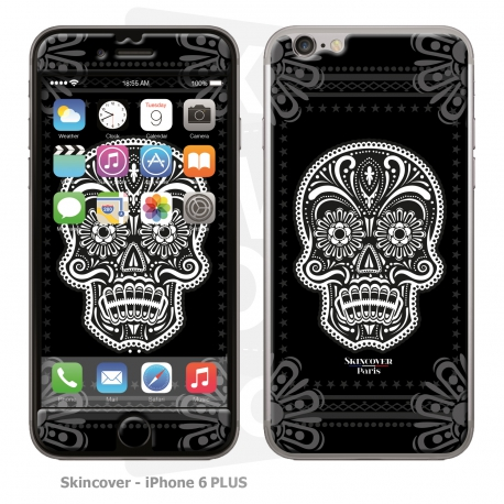 Skincover® iPhone 6/6S Plus - Skull & Flower