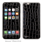 Skincover® iPhone 6/6S Plus - Croco Cuir Black