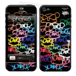 Skincover® IPhone 5-5S - Mad Invasion by Intox