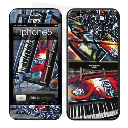 Skincover® IPhone 5-5S - Street Symphonie by Intox
