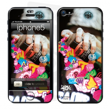 Skincover® IPhone 5-5S - The Rebirth by Intox