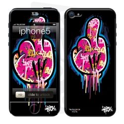 Skincover® IPhone 5-5S - FCK Mad by Intox