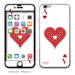 Skincover® iPhone 6/6S - Ace of Heart