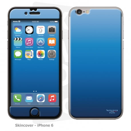 Skincover® iPhone 6/6S - Blue