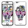 Skincover® iPhone 6/6S - Skull & Art