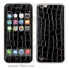 Skincover® iPhone 6/6S Plus - Cuir Black