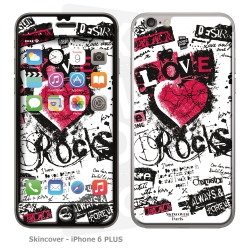 Skincover® iPhone 6/6S Plus - Love & Rock