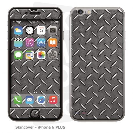 Skincover® iPhone 6/6S Plus - Metal 1
