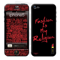 Skincover® iPhone 5/5S - Fashion is my religion By CLVII