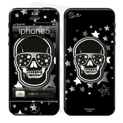 Skincover® iPhone 5/5S - Star Skull By CLVII