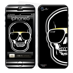 Skincover® iPhone 5/5S - Skull By CLVII