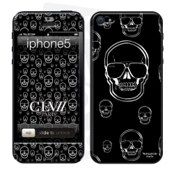 Skincover® iPhone 5/5S - Skull Rain By CLVII