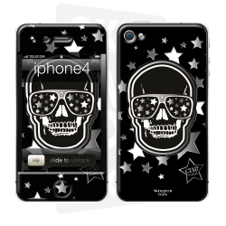 Skincover® iPhone 4/4S - Star Skull By CLVII
