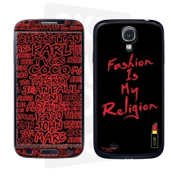 Skincover® Galaxy S4  - Fashion is my religion By CLVII