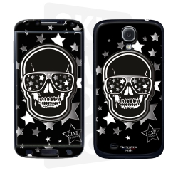 Skincover® Galaxy S4  -Star Skull By CLVII