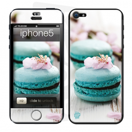 Skincover® Iphone 5/5S - Macarons Flowers