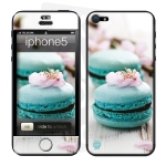 Skincover® iPhone 5 / 5S / 5SE - Macarons Flowers