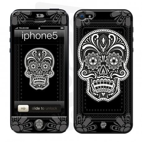 Skincover® Iphone 5/5S - Skull & Flower