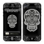 Skincover® iPhone 5 / 5S / 5SE - Skull & Flower