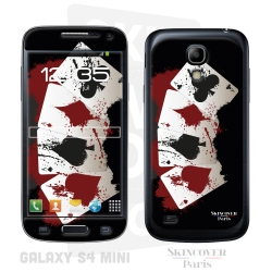 Skincover® Galaxy S4 Mini - 4 Aces