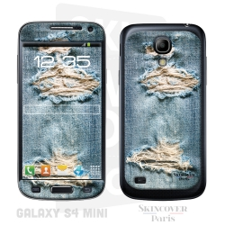 Skincover® Galaxy S4 Mini - Blue