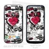 Skincover® Galaxy S4 Mini - Love & Rock