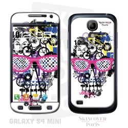 Skincover® Galaxy S4 Mini - Skull & Art