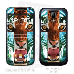 Skincover® Galaxy S4 Mini - Tiger Cross