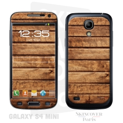 Skincover® Galaxy S4 Mini - Wood