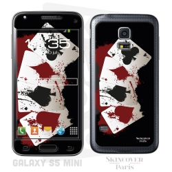 Skincover® Galaxy S5 Mini - 4 Aces