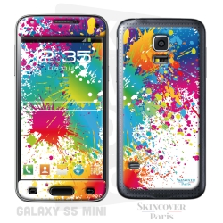 Skincover® Galaxy S5 Mini - Abstr'Art