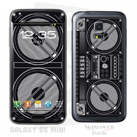 Skincover® Galaxy S5 Mini - Ghetto Blaster