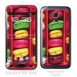 Skincover® Galaxy S5 Mini - Macaron Flowers