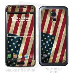 Skincover® Galaxy S5 Mini - Old Glory