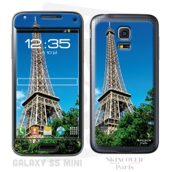 Skincover® Galaxy S5 Mini - Paris City