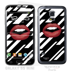Skincover® Galaxy S5 Mini - Rouge Eclair