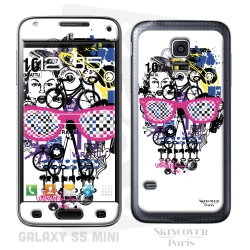 Skincover® Galaxy S5 Mini - Skull & Art