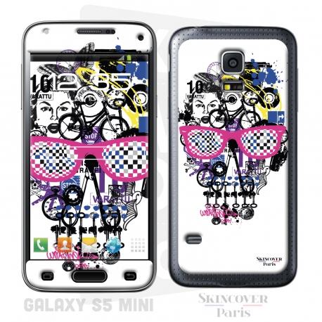 Skincover® Galaxy S5 Mini - Skull & Art