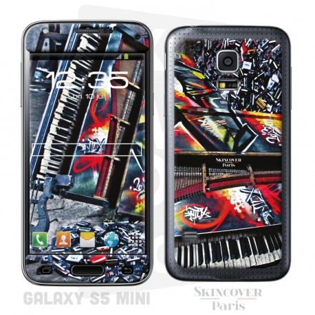 Skincover® Galaxy S5 Mini - Street Symphonie