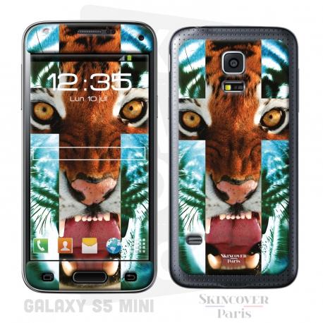 Skincover® Galaxy S5 Mini - Tiger Cross